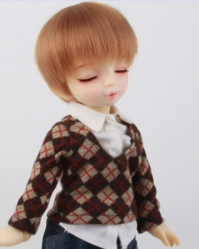 FM/1096#Soft Brown 가발